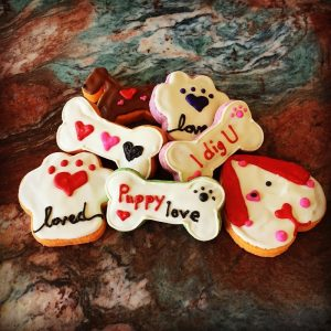 DEX Decorated Cookies - Puppy Love - Dog Treats - The Doggie Express